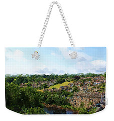 Barnard Castle View Weekender Tote Bag