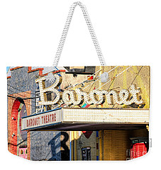 Baronet Theater Asbury Park New Jersey 1913 Demolished In 2010 Weekender Tote Bag