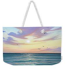 Basking In The Sunset Weekender Tote Bag
