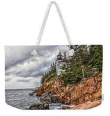 Bass Harbor Lighthouse Weekender Tote Bag