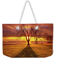 Weekender Tote Bag featuring the photograph Be Still In The Moment by Phil Koch