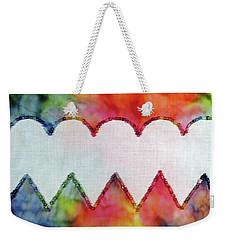 Be Still My Beaded Hearts Weekender Tote Bag