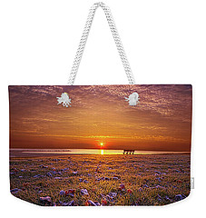 Weekender Tote Bag featuring the photograph Be The Light by Phil Koch