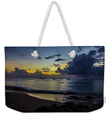 Weekender Tote Bag featuring the photograph Beach At Sunset 3 by Stuart Manning