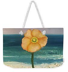 Beach Flora Weekender Tote Bag
