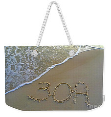 Beach Happy 2 Weekender Tote Bag