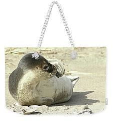 Beach Seal Weekender Tote Bag