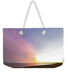 Beach Sunset West Dennis Cape Cod Weekender Tote Bag