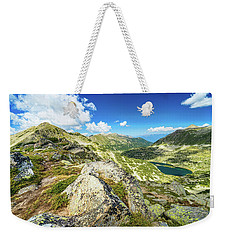 Beautiful Landscape Of Pirin Mountain Weekender Tote Bag
