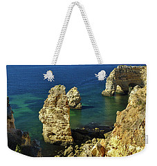 Beautiful Marinha Beach From The Cliffs Weekender Tote Bag