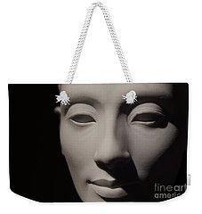 Weekender Tote Bag featuring the photograph Beautiful Nefertiti  by Sue Harper
