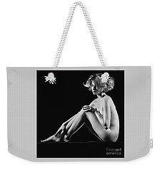 Beautiful Nude Woman Fineart Style Weekender Tote Bag