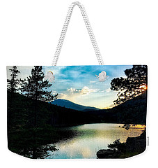 Weekender Tote Bag featuring the photograph Beaver Brook Lake by Dan Miller