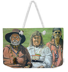 Beaver Camp Weekender Tote Bag