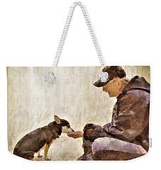 Becoming Friends Weekender Tote Bag