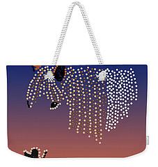 Bedazzled Horse's Mane Weekender Tote Bag