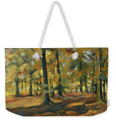 Beeches In Autumn Weekender Tote Bag