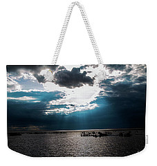 Beginning Of The End Of The Day Weekender Tote Bag