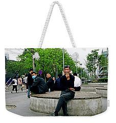 Beijing Street Weekender Tote Bag