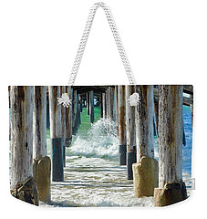 Below The Pier Weekender Tote Bag