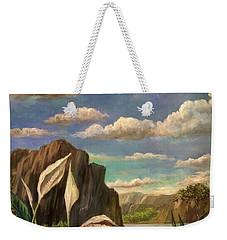 Beneath The Clouds Of Africa Weekender Tote Bag