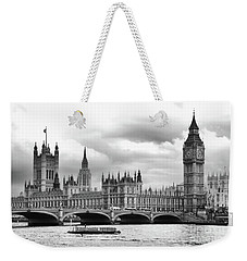 Big Clock In London Weekender Tote Bag