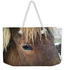 Weekender Tote Bag featuring the photograph Big Eyes by Carl Young
