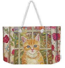 Big Kitty Weekender Tote Bag