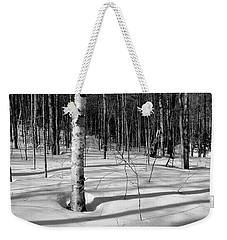 Birch Shadow. Weekender Tote Bag