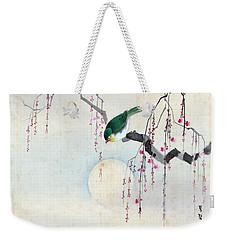 Bird And Moon Weekender Tote Bag
