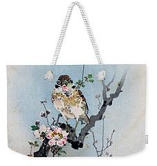 Bird And Petal Weekender Tote Bag