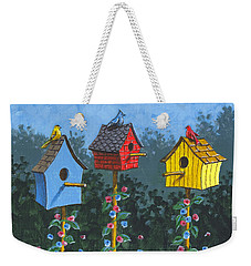 Bird House Lane Sketch Weekender Tote Bag