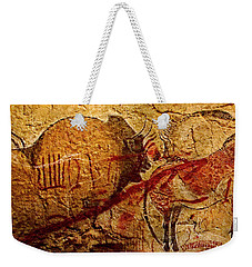 Bison Horse And Other Animals Closer - Narrow Version Weekender Tote Bag
