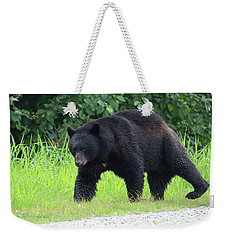 Black Bear Crossing Weekender Tote Bag