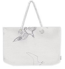 Black-billed Gulls Weekender Tote Bag