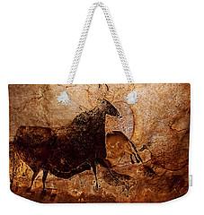 Black Cow And Horses Weekender Tote Bag