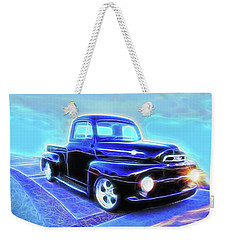 Black Ford Truck Weekender Tote Bag