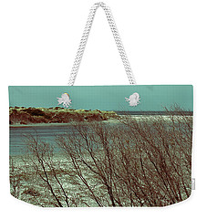 Weekender Tote Bag featuring the photograph Blackwood Rivermouth, Augusta, Western Australia by Elaine Teague