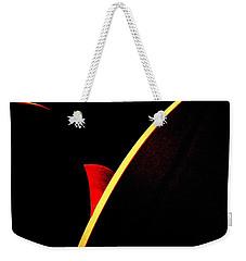 Bloodmoonrise Abstract Weekender Tote Bag