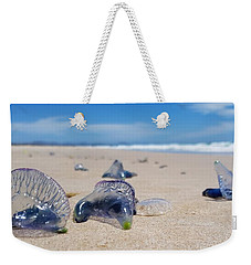 Blue Bottles Weekender Tote Bag