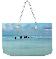 Blue Mayan Sea Weekender Tote Bag