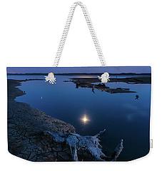 Blue Moonlight Weekender Tote Bag
