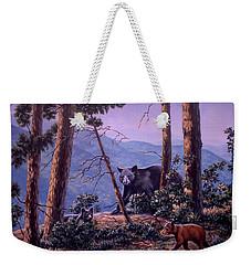 Blue Ridge Bears Weekender Tote Bag