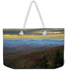 Blue Ridge Parkway - Blue Ridge Mountains - Autumn Weekender Tote Bag