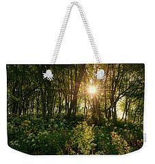 Blue Ridge Parkway - Last Of Summers Light, North Carolina Weekender Tote Bag