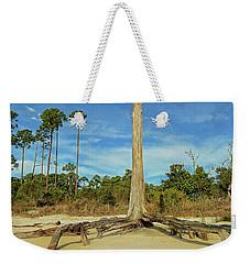 Blue Skies And Broken Branches Weekender Tote Bag