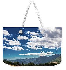 Blue Skies And Mountains II Weekender Tote Bag