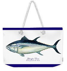 Bluefin Tuna Weekender Tote Bag