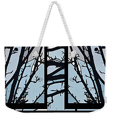 Blues - Barely Spring Abstract - Weekender Tote Bag