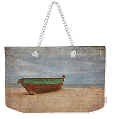 Weekender Tote Bag featuring the digital art Boat by Christopher Meade